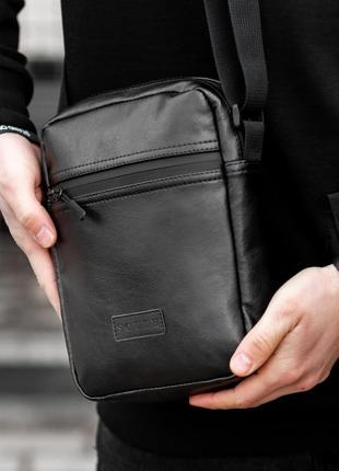 Сумка через плече сумка-мессенджер south black