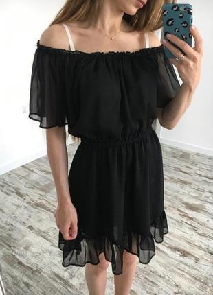 Красивое женственное платье-сарафан на плечи от h&m4 фото