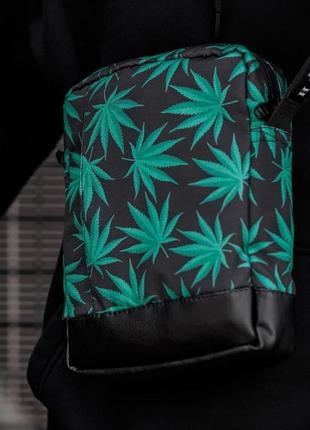 Сумка через плече сумка-мессенджер south soft leaf
