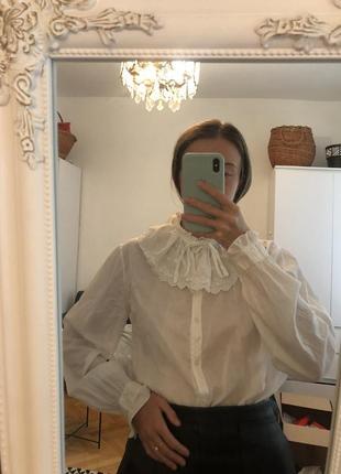 Блуза з рюшами сорочка рубашка