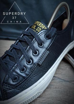 Кеды superdry 37p (22cm) leather