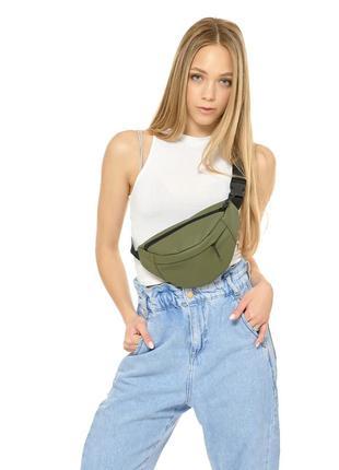 Бананка, сумка на пояс, сумка через плече / різні кольори