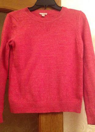 Яркий стильный свитер gap