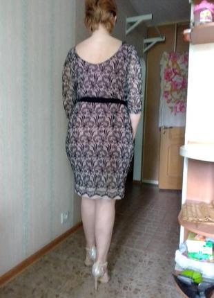 В наличии красивое женственное платье сукня вечернее цветочное бархат на сетке гипюр базовое