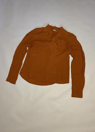 Женская оригинальная блузка туника balenciaga paris 42