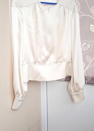 Топ, блуза из плотного шелка escada.