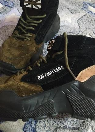Зимние теплые ботинки,кросовки,крутые,стильные , размер 36.
