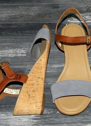 Женские оригинальные кожаные невероятно крутые босоножки timberland sibbern