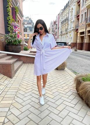 Нежное  легкое прогулочное платье, идеально для повседневных прогулок