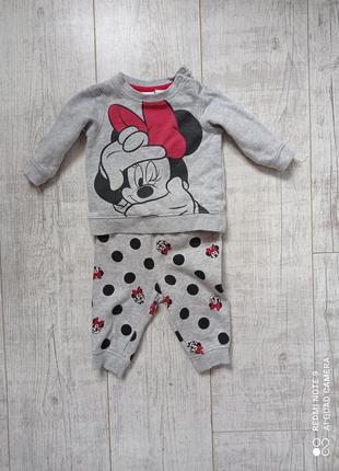 Сірий костюмчик для малюка 3-6міс disney