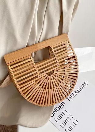Модная сумка бамбук