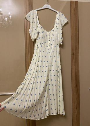 Платье zara m-l
