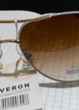 Солнцезащитные очки италия с белой оправой2 фото