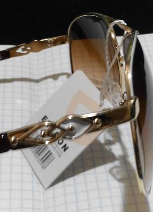 Солнцезащитные очки италия с белой оправой6 фото