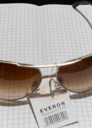 Солнцезащитные очки италия с белой оправой8 фото