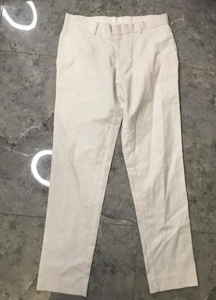 🆘🔥 ликвидация товара🆘🔥    белые мужские класические брюки