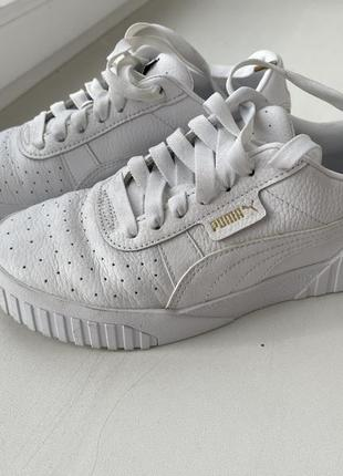 Оригинальные кроссовки puma cali triple white