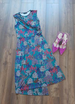 Розкішне плаття міді на запах від reserved