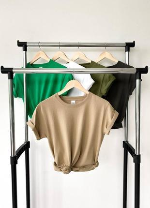 Женские базовые оверсайз футболки |100% хлопо