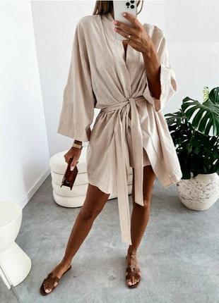Костюм кимоно шорты