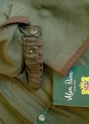 Новая куртка-парка английского премиум бренда alan paine-м-ка4 фото