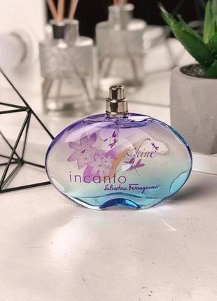Salvatore ferragamo incanto shine женская туалетная вода,парфюм на лето ,фруктовое шампанское