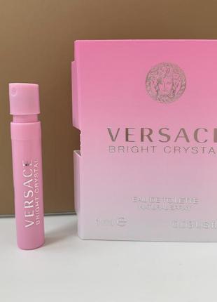 Versace bright crystal туалетная вода пробник