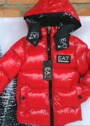 Зимняя детская куртка,пуховик,водонепроницаемая, люкс качество,на рост 92-98.