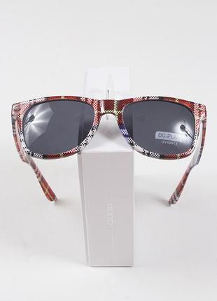 Очки солнцезащитные ретро dc-plaid