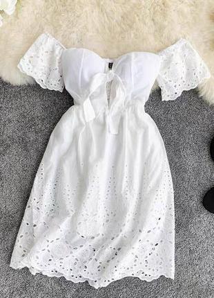 Платье из прошвы 🖤