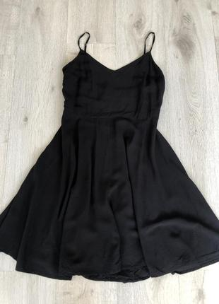 Сорна сукня на бретельках із натуральної тканини