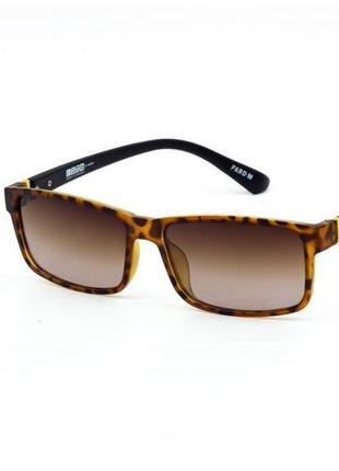 Солнцезащитные очки sumwin леопардовые с коричневыми линзами