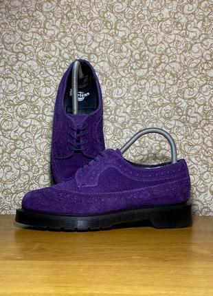 Ботинки туфли dr. martens 1 3619 aw501 оригинал замша кожа размер 36