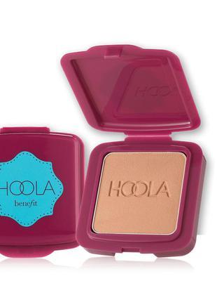 Матовый бронзер для лица hoola от benefit