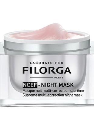 Ночная маска для лица filorga ncef night mask 7 мл
