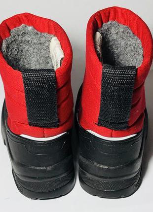 Kuoma зимние детские валенки сапоги ботинки очень теплые5 фото
