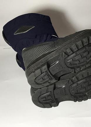 Kuoma зимние детские валенки сапоги ботинки очень теплые синие черные5 фото