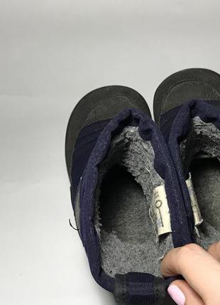 Kuoma зимние детские валенки сапоги ботинки очень теплые синие черные3 фото