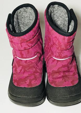 Kuoma зимние детские валенки сапоги ботинки очень теплые розовые5