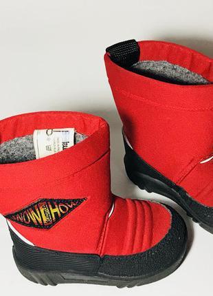 Kuoma зимние детские валенки сапоги ботинки очень теплые