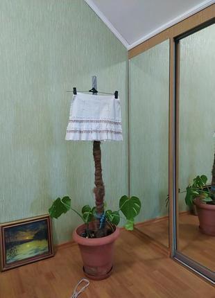 Серо светлая юбка