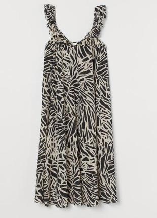Летнее женское платье ,  h&m  хл