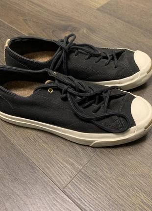 Converse jack russel замшевые кеды 39 , 24,5 см1 фото