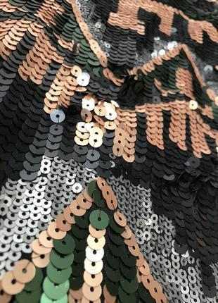 Юбка с паетками ginatricot3 фото