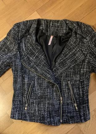 Эксклюзивный пиджак косуха французский букле пиджачек курточка