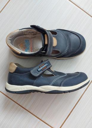 Кожаные туфли pablosky 30 р.(19 см.)