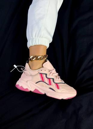 Женские спортивные кроссовки ozweego punki pink