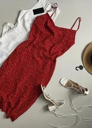 Красивейшее цветочное платье комбинация.