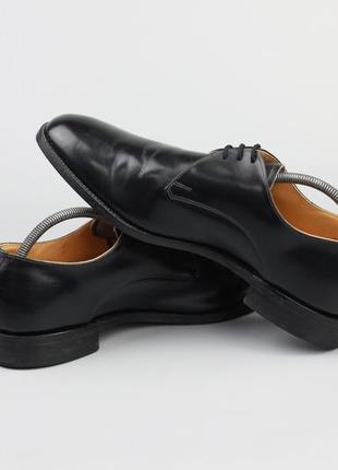 Кожаные туфли дерби англия