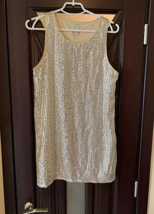 Платье с пайетками forever 21